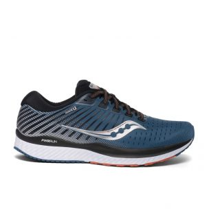 Saucony Guide 13_Men_Silver_Blue