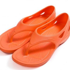 ํYsandal with heel strap-orange