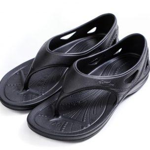YSandal with Heel strap Black