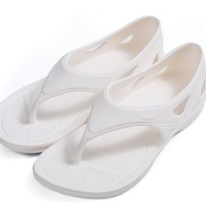 YSandal with Heel strap White