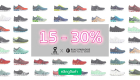 On Running Discount 15-30 percent