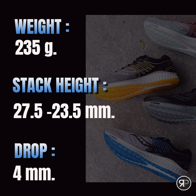 Saucony Freedom 3_Weight-Stack-Drop