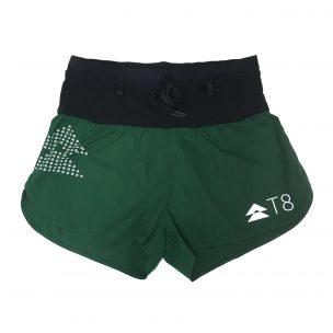 Women's Sherpa Shorts - British Racing Green (flat lay)